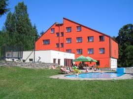 Hotel Na Trojce, Pusté Žibřidovice (Hanušovice yakınında)