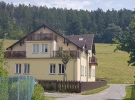 Apartmány Karlovický dvůr, Karlovice (Město Albrechtice yakınında)
