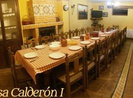 Casa Rural Calderon de Medina I y II, Siete Iglesias de Trabancos (Castrillo de la Guareña yakınında)