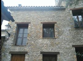 apartamento exclusivo, Roda de Isábena (Lascuarre yakınında)
