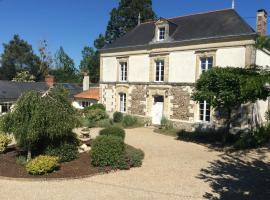 La Boissotiere B&B, Cersay (рядом с городом Nueil-sur-Layon)