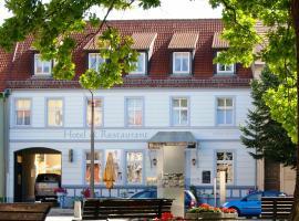 Bluhm's Hotel & Restaurant am Markt, Kyritz (Bantikow yakınında)