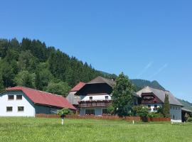 Ferienwohnung Mayer, Zistl (Sankt Johann am Tauern yakınında)