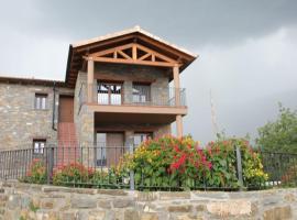 Casa sierra ferrera, Samper (Morillo de Monclús yakınında)