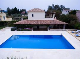 Villa DM at Porto Cheli, Bouzaíika