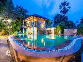 Seaside vacation home, Pran Buri