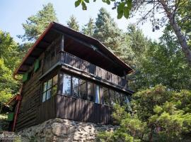 Log Cabin, Bohuliby (Davle yakınında)