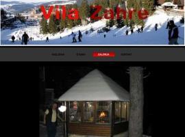 Vila Zahre, Vlasic (Travnik yakınında)