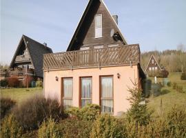 Holiday Home Bad Lobenstein with Fireplace IV, Mühlberg (Saalburg yakınında)