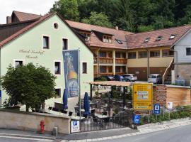 Hotel Gasthof Hereth, Wirsberg (Trebgast yakınında)
