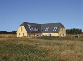 Six-Bedroom Holiday home with Sea View in Hvide Sande, Nørre Lyngvig (Hvide Sande yakınında)