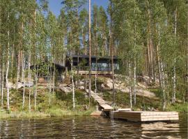 Three-Bedroom Holiday Home in Hurissalo, Hurissalo (рядом с городом Пуумала)