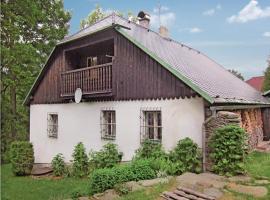 Holiday home Javorna na Sumave, Čachrov (Podolí yakınında)