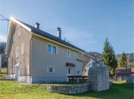 Two-Bedroom Holiday Home in Draga, Draga (рядом с городом Kozji Vrh)