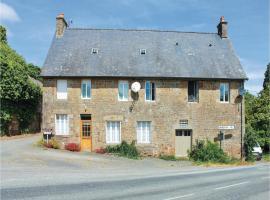 Two-Bedroom Holiday Home in La Bazouge du desert, La Bazouges-du-Désert (рядом с городом Saint-Mars-sur-la-Futaie)