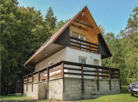 Two-Bedroom Holiday Home in Smrdavka, Smradávka (Boršice yakınında)
