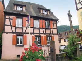 Apartment Beaulieu sur Sonnette J-745, Soultzbach les Bains (рядом с городом Walbach)