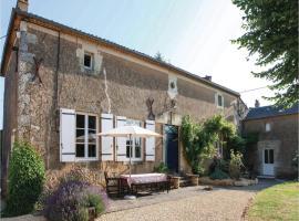 Holiday home Irais KL-1370, Irais (рядом с городом Saint-Jouin-de-Marnes)