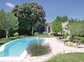 Holiday Home Lirac Chemin Des Carrieres, Lirac