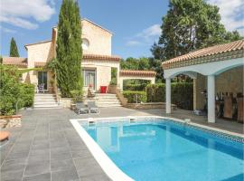 Five-Bedroom Holiday Home in Thezan les Beziers, Lignan-sur-Orb