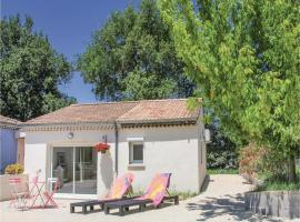 One-Bedroom Holiday Home in St. Gervais, Saint-Gervais-sur-Roubion