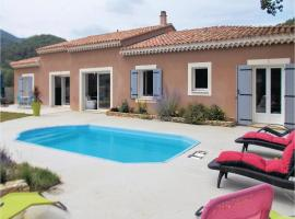 Four-Bedroom Holiday Home in Propiac les Bains, Propiac