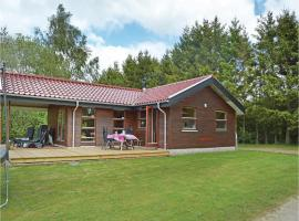 Three-Bedroom Holiday home with a Fireplace in Silkeborg, Abildskov