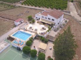 Tranquilo Rural Villa, Marchuquera (Luchente yakınında)