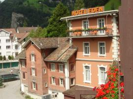 Hotel Eden Sisikon, Sisikon (nära Isenthal)