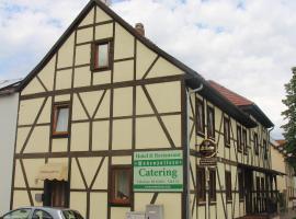 Hotel und Restaurant Hohenzollern, Erfurt (Kerspleben yakınında)