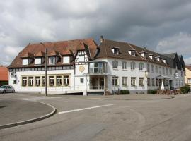 Hôtel Restaurant À L'Etoile, Мерквиллер-Пешельброн (рядом с городом Gunstett)
