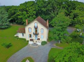 Castel Bois Clair, Espinasse-Vozelle (рядом с городом Saint-Germain-de-Salles)