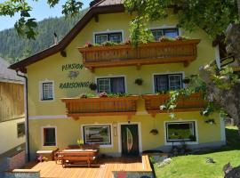 Pension Rabischnig, Mallnitz (Obervellach yakınında)