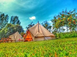 Crooked willow campsite, Burgh le Marsh