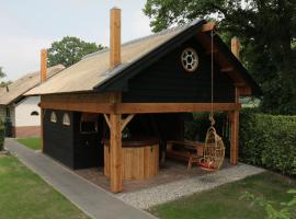 Dorpsplein met Sauna, Hottub & BBQ