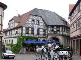 Hotel Gasthof Krone, Lohr (Rettersbach yakınında)