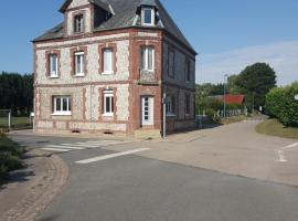 Demeure Cauchoise, Ancretteville-sur-Mer (рядом с городом Angerville-la-Martel)