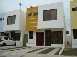 Hermosa casa de alquiler para vacacionar en Manta
