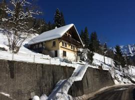 77 Year Old Swiss Chalet between Interlaken and Lucerne, Schangnau