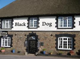 The Black Dog Inn, Кредитон (рядом с городом Poughill)