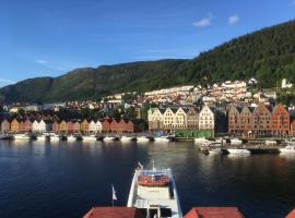 Apartment with Beautiful View to Bryggen