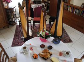 La chambre du harpiste, Saint-Mars-la-Jaille (рядом с городом Bonnoeuvre)