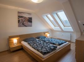 Nusle Attic Apartment
