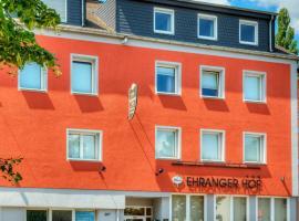 Hotel Ehranger Hof, Trier (Ehrang yakınında)