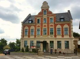 Hotel Burghof Görlitz, Görlitz (Königshain yakınında)
