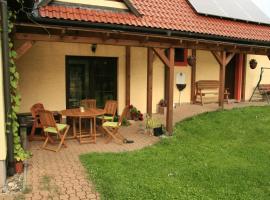 Taneček - malý apartmán u rodinného domu, Stvolínky