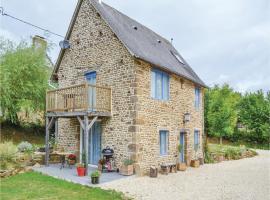 Holiday Home Cauesmes Vaucé with Fireplace IV, Vaucé (рядом с городом Saint-Siméon)