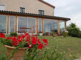 Villa Panoramique, Saint-Clair-du-Rhône (рядом с городом Clonas-sur-Varèze)