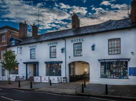 Three Swans Hotel, Хангерфорд (рядом с городом Little Bedwyn)