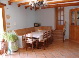 Casa Rural Masia La Albea, Les Ramblelles (Els Ibarsos yakınında)